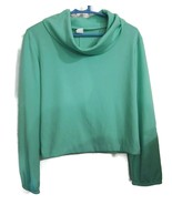 Mint Green Blouse Shirt Top Women's Size 12 Cow... - $20.00