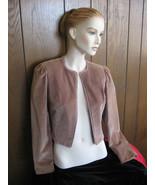 Short Jacket, Velvet Bolero, Vintage 1960's-70'... - $32.76