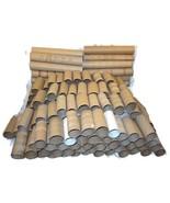 100 Cardboard Toilet Paper Tubes Rolls Kids Cra... - $20.00