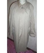 Trench Coat Jacket Anderson Little 44 Long Beig... - $50.00