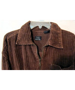 Modern Edge Jacket Coat Women's Dark Brown Cord... - $25.00