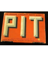 Vintage 1919 Parker Brother PIT Party Card Game... - $15.00