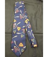 Salvatori Men's Dress Polyester Neck Tie Blue T... - $15.00