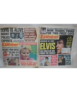 Elvis National Examiner Lot of 2 The Child he h... - $8.95