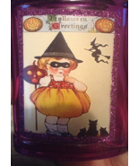 Halloween Potion Bottle Ornament Vintage-look W... - $6.99