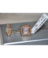New $2150 LAGOS Caviar Pave .58tcw DIAMOND 18K ... - $1,112.50