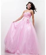 Sexy Strapless Cinderella Posh Pink Dreamz/Riva... - $249.95