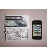 Apple iPhone 4 S 4S - 16GB - Black Smartphone S... - $149.99