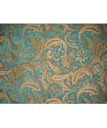 Marina Paisley Chenille Upholstery Drapery fabr... - $13.50
