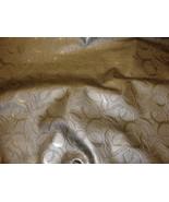 Swirl Metallic Embossed upholstery Faux vinyl l... - $16.95