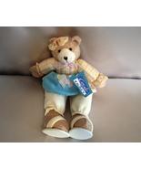 Soft Girl Bear Shelf Sitter Spring Colors Colle... - $2.50
