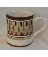 Sberna Deruta Coffee Mug with Gold, Green, and ... - $17.99