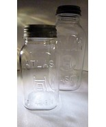 Canning Jars Hazel Atlas H over A Square Half-G... - $29.99