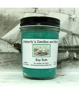 Bay Rum PURE SOY Jelly Jar Candle - $8.00