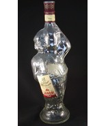 Winemaker Clear Glass Figural Bottle Made in Mo... - $27.99