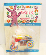 MECHANICAL EASTER PETS 1960's RABBIT BUNNY ON T... - $99.99