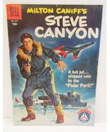 DELL FOUR COLOR 1957 #804 MILTON CANIFF'S STEVE... - $11.99