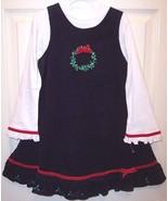 NWOT NEW Good Lad Girl's Black Corduroy Holiday... - $22.99