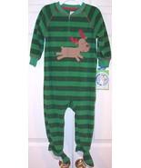 NWT Carter's Green Fleece Holiday Christmas Rei... - $11.99
