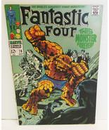 FANTASTIC FOUR #79 COMIC BOOK OCT 1968 MARVEL C... - $19.99