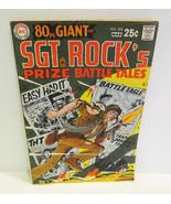 DC 80 PAGE GIANT SGT. ROCK'S PRIZE BATTLES 1969... - $17.99