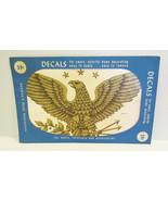 MEYERCORD DECALS VINTAGE AMERICAN EAGLE WATER D... - $17.99