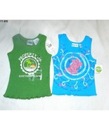 Two Size 4-5 Green Soda & Energy ZoneTank Tops NWT - $14.99