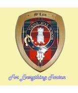 Clan MacLain Lochbuie Tartan Woodcarver Wooden ... - $120.00