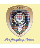 Clan Kidd Tartan Woodcarver Wooden Wall Plaque ... - $120.00
