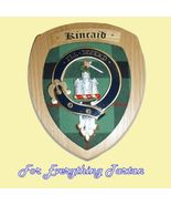 Clan Kincaid Tartan Woodcarver Wooden Wall Plaq... - $120.00