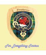Clan Farquharson Tartan Woodcarver Wooden Wall ... - $120.00