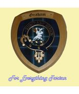 Clan Graham of Menteith Tartan Woodcarver Woode... - $120.00
