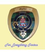 Clan Ogilvie Tartan Woodcarver Wooden Wall Plaq... - $120.00