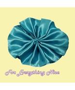 Turquoise Satin Table Napkins Serviettes Decora... - $35.00