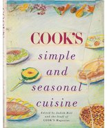 Cook's Simple and Seasonal Cuisine      Vintage... - $10.16