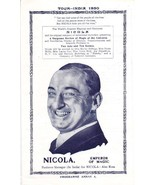 The GREAT NICOLA : Emperor of Magic - 1930 Indi... - $50.00