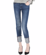 NWT ZARA JEANS WITH TURN-UP CUFFS size 2 - $49.00
