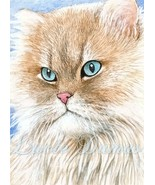 4x6 Art print Cat 341 OSWOA by L.Dumas - $7.99