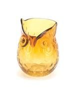 Amber Pop Owl Vase - $22.00