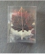 Metal Autumn Maple Leaf Better Homes Napkin Rin... - $3.99