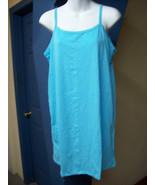 Sundress Blue Spaghetti Strap Womens Summer Dre... - $9.35