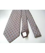 Stafford Necktie mens floral light gray silk ti... - $14.50