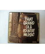 Vinyl Record That Grand Ole Country Music LP 33... - $19.35