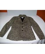 Gerard Darel Leopard Jacket by French Designer ... - $49.95