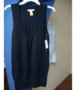 Knit Skirt Top Dress Women Black shirt by R898 ... - $18.35