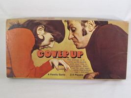 Cover Up Board Game 1975 Parker Brothers 100% C... - $12.82