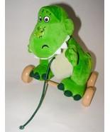 Disney Toy Story Rex Dinosaur Pull Toy Wheels P... - $9.99