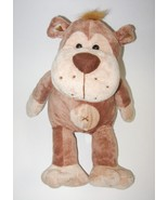 Kellytoy Monkey X Bellybutton Brown Tan Plush S... - $24.88