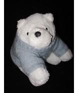 Bath and Body Works White Polar Bear Blue Sweat... - $12.50