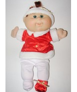 Cabbage Patch Kid Holiday Baby Red Hair Blue Ey... - $22.76